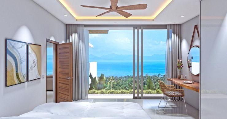 New Luxury 4 Bed Bali Sea-view Villas in Bophut Hills-14