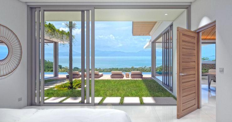 New Luxury 4 Bed Bali Sea-view Villas in Bophut Hills-7