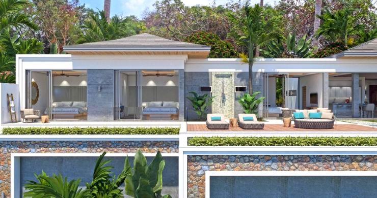 New Luxury 4 Bed Bali Sea-view Villas in Bophut Hills-5