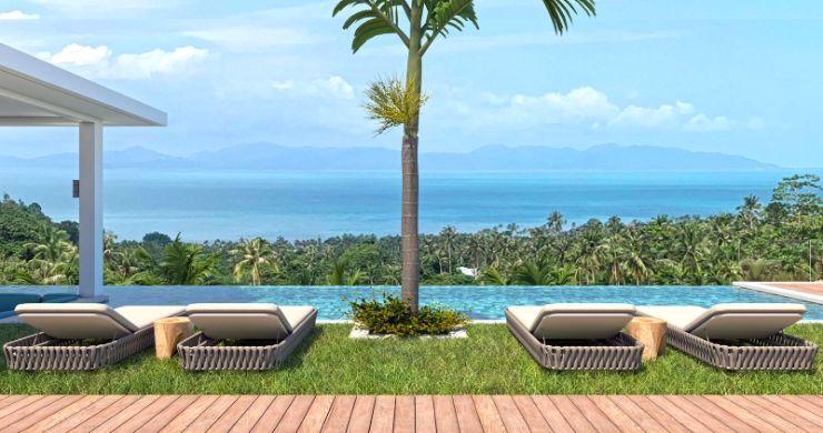 New Luxury 4 Bed Bali Sea-view Villas in Bophut Hills-6