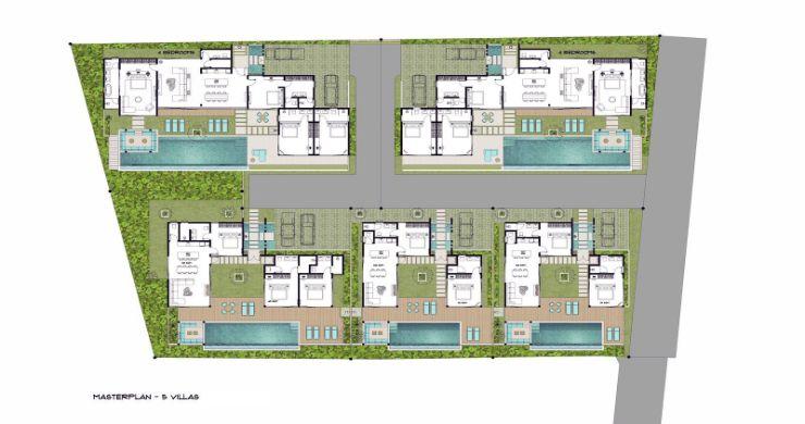 New Luxury 4 Bed Bali Sea-view Villas in Bophut Hills-30