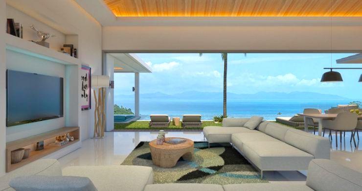 New Luxury 4 Bed Bali Sea-view Villas in Bophut Hills-11