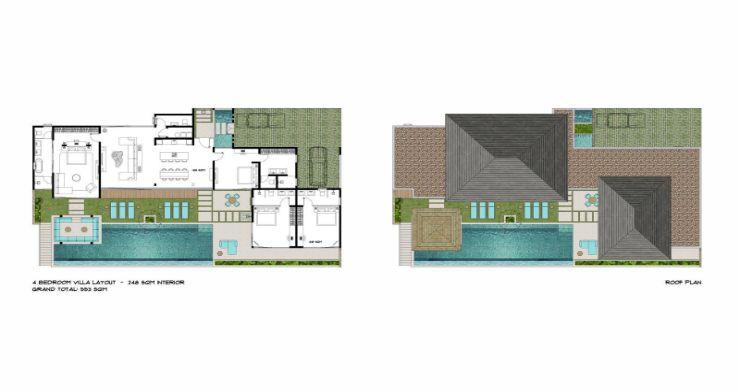 New Luxury 4 Bed Bali Sea-view Villas in Bophut Hills-31