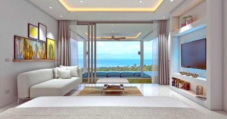 New Luxury 4 Bed Bali Sea-view Villas in Bophut Hills-12