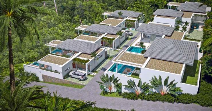 New Luxury 4 Bed Bali Sea-view Villas in Bophut Hills-4