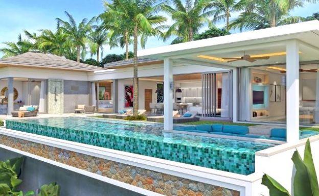 New Luxury 4 Bed Bali Sea-view Villas in Bophut Hills