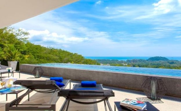 Layan 3 Bedroom Luxury Sea-view Apartment in Phuket