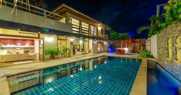 Tropical 3 Bedroom Pool Villa Close to Bangrak Beach-15