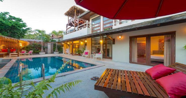 Tropical 3 Bedroom Pool Villa Close to Bangrak Beach-3