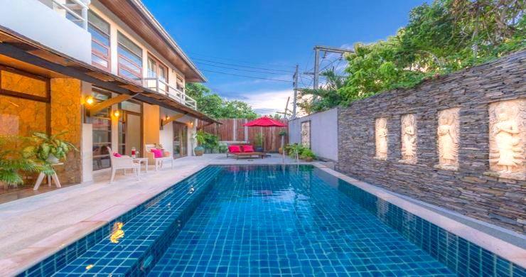 Tropical 3 Bedroom Pool Villa Close to Bangrak Beach-2