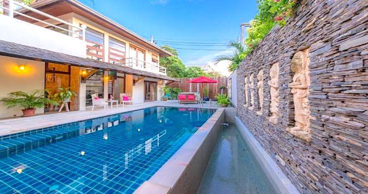 Tropical 3 Bedroom Pool Villa Close to Bangrak Beach-1