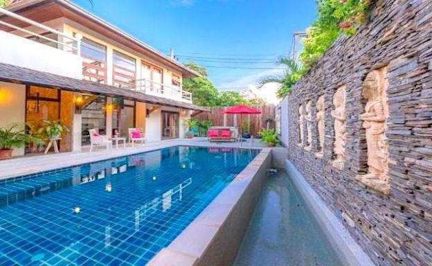 Tropical 3 Bedroom Pool Villa Close to Bangrak Beach