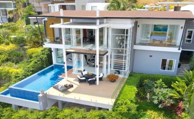 Contemporary 4 Bed Luxury Pool Villa in Chaweng Noi