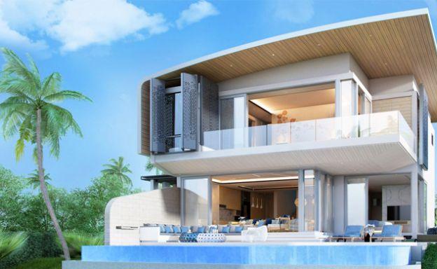 New 2 Bed Ultra-Modern Luxury Pool Villa in Rawai