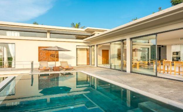 Luxury 4 Bedroom Sea-view Pool Villa in Koh Phangan