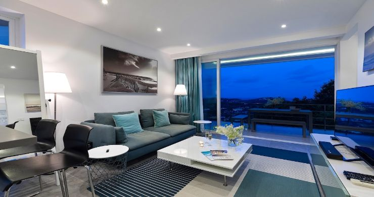 Luxury 1 Bed Sunset Sea view Apartment in Big Buddha-11