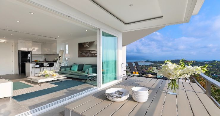 Luxury 1 Bed Sunset Sea view Apartment in Big Buddha-13