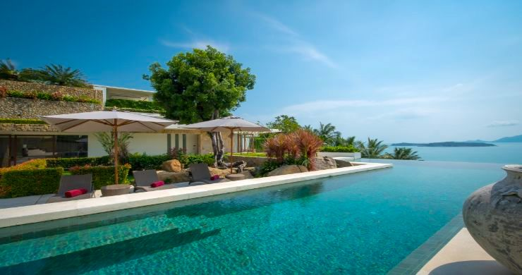 Magnificent Beachfront Villa on Choeng Mon Peninsular-3