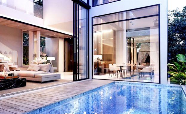 Stylish 3 Bedroom Luxury Pool Villas for Sale in Phuket