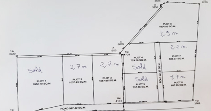 Affordable Flat Land for Sale in Peaceful Part of Lamai-9