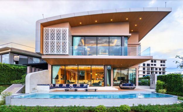 New 3 Bed Ultra-Modern Luxury Pool Villa in Rawai