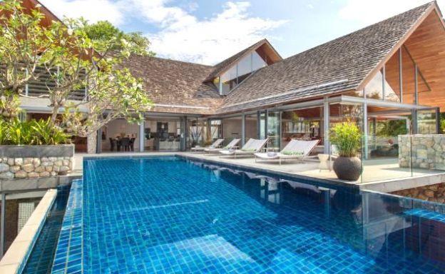 Luxury 6 Bed Oceanfront Pool Villa for Sale in Phuket