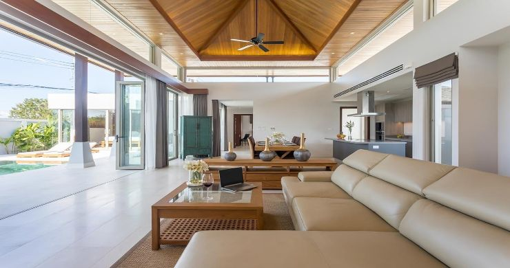 Contemporary 3-4 Bedroom Lakeside Villas in Bang Tao-6