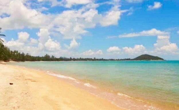 Koh Samui Beachfront Land Plots For Sale in Lipa Noi