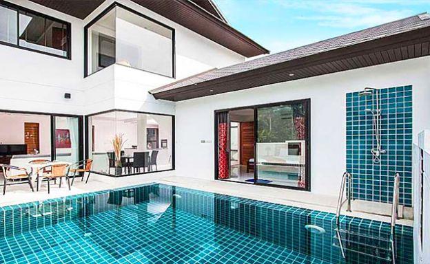 Modern 3 Bedroom Pool Villa 300m to Ban Tai Beach