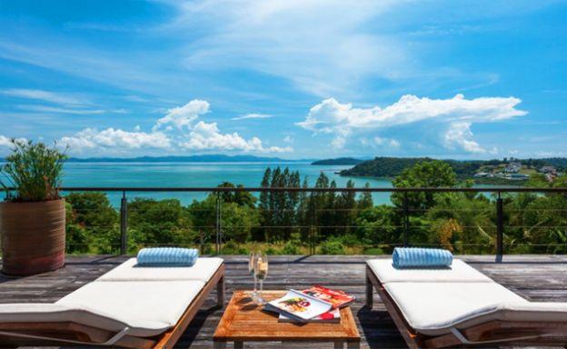 6 Bed Luxury Sea View Villa for Sale in Ao Por, Phuket
