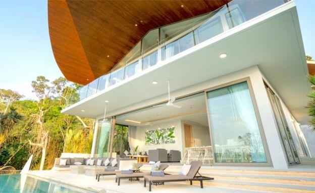 Stylish 3-4 Bedroom Sea View Villas in Kamala, Phuket