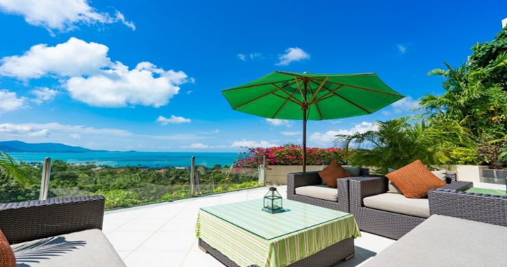 Charming 7 Bed Tropical Sea view Villa in Choeng Mon-1