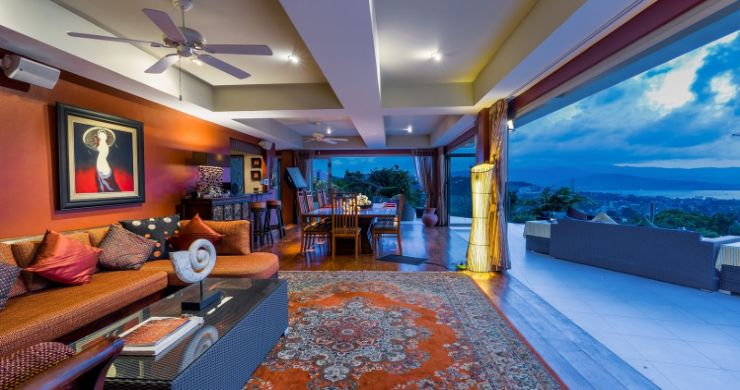 Charming 7 Bed Tropical Sea view Villa in Choeng Mon-17