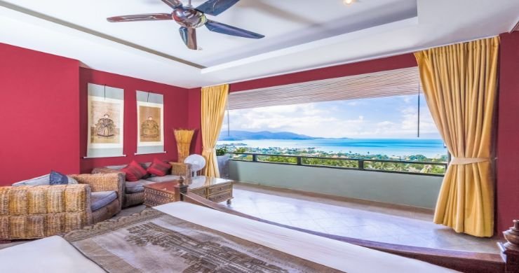 Charming 7 Bed Tropical Sea view Villa in Choeng Mon-20