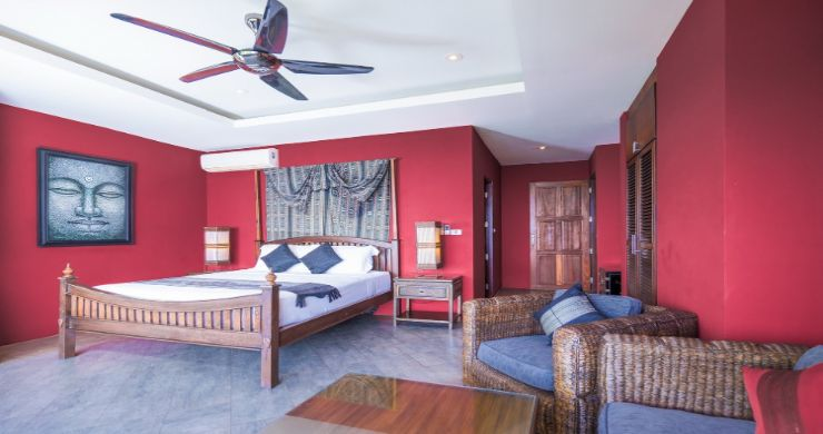 Charming 7 Bed Tropical Sea view Villa in Choeng Mon-21