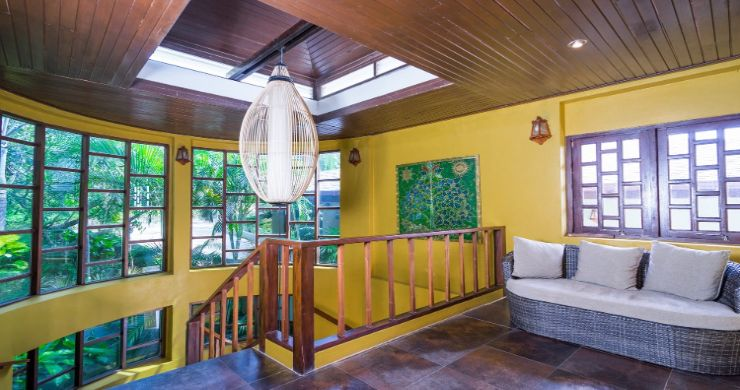 Charming 7 Bed Tropical Sea view Villa in Choeng Mon-14