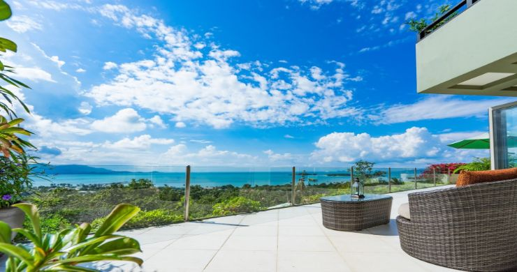 Charming 7 Bed Tropical Sea view Villa in Choeng Mon-23