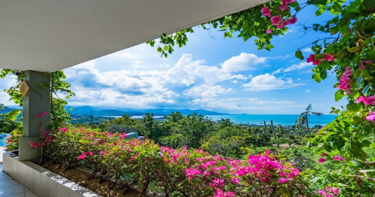 Charming 7 Bed Tropical Sea view Villa in Choeng Mon-19