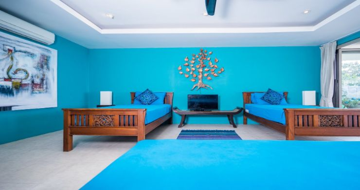 Charming 7 Bed Tropical Sea view Villa in Choeng Mon-7