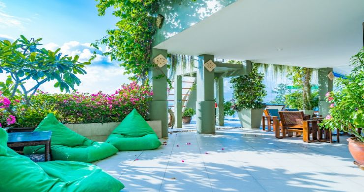 Charming 7 Bed Tropical Sea view Villa in Choeng Mon-12
