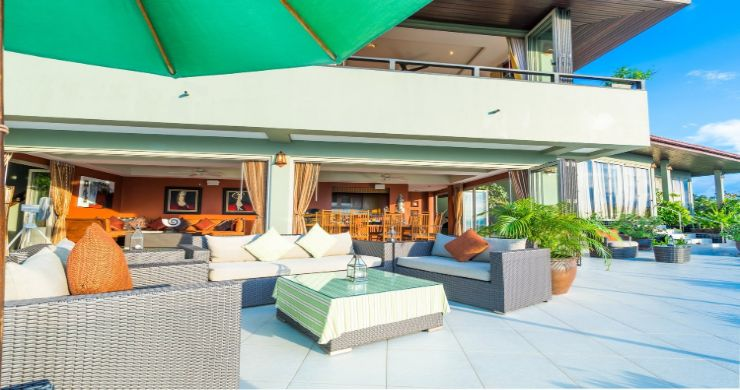 Charming 7 Bed Tropical Sea view Villa in Choeng Mon-3