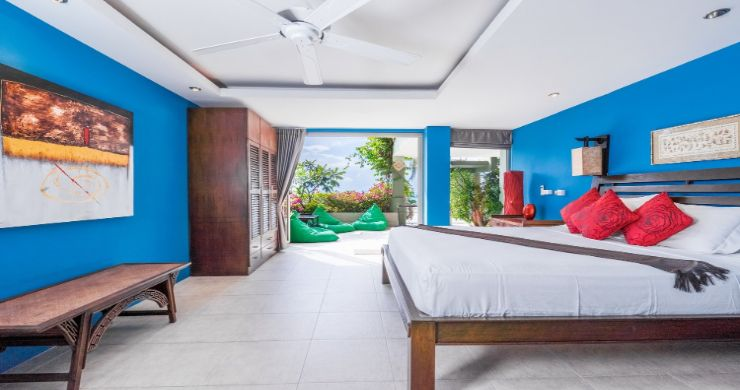 Charming 7 Bed Tropical Sea view Villa in Choeng Mon-10