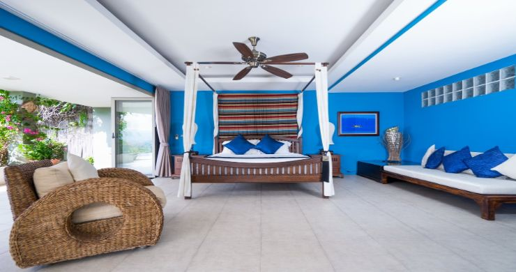 Charming 7 Bed Tropical Sea view Villa in Choeng Mon-6