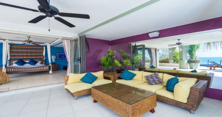 Charming 7 Bed Tropical Sea view Villa in Choeng Mon-4