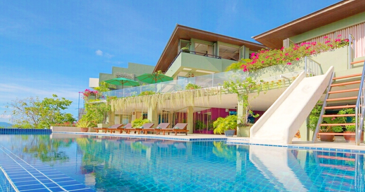 Charming 7 Bed Tropical Sea view Villa in Choeng Mon-2
