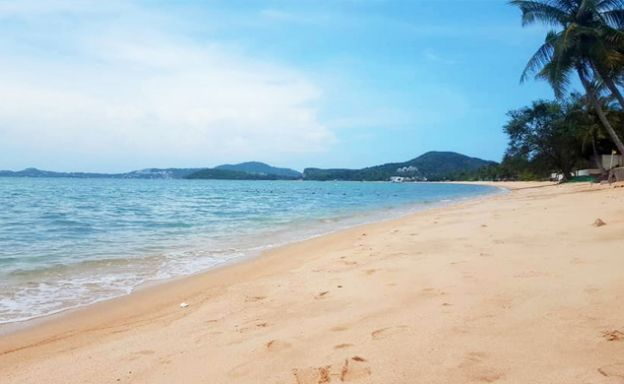 Koh Samui Beachfront Land for Sale on Bophut Bay