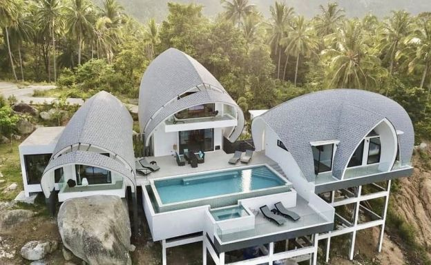 Modern Luxury Sea-view Villa in Chaweng Noi Hills