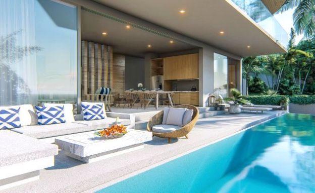 Stylish 2-3 Bedroom Sea View Villas in Kamala, Phuket