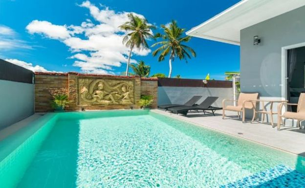New Modern 3 Bedroom Pool Villa in Peaceful Maenam