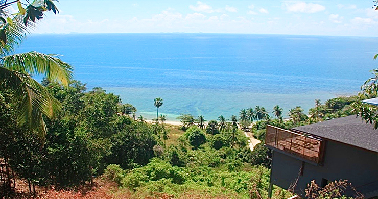 Exclusive Sunset Sea View land for Sale in Koh Phangan-1